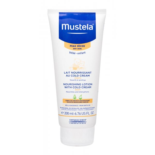 Mustela Bébé Nourishing Lotion With Cold Cream